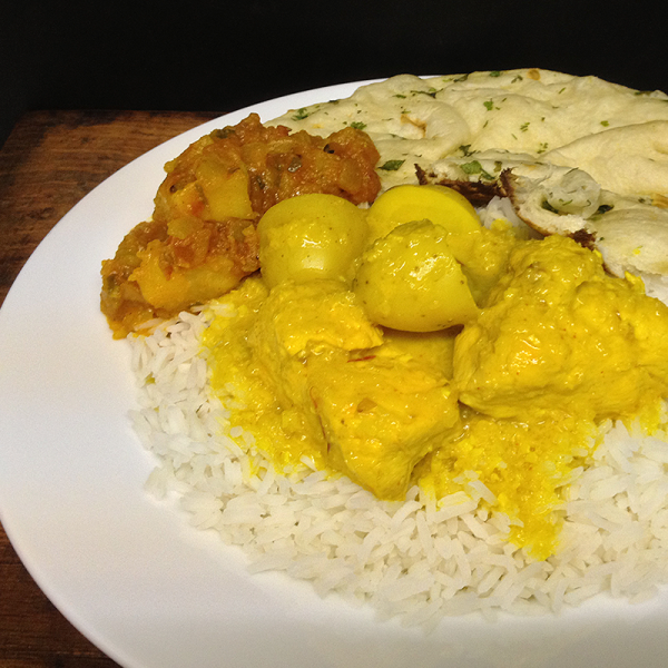 Saffron Chicken Curry