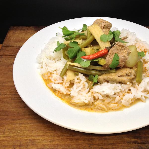 Thai duck curry