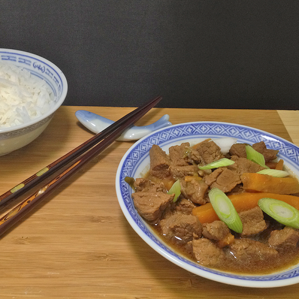 Chinese Beef and Carrots