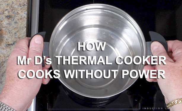 How a thermal cooker cooks