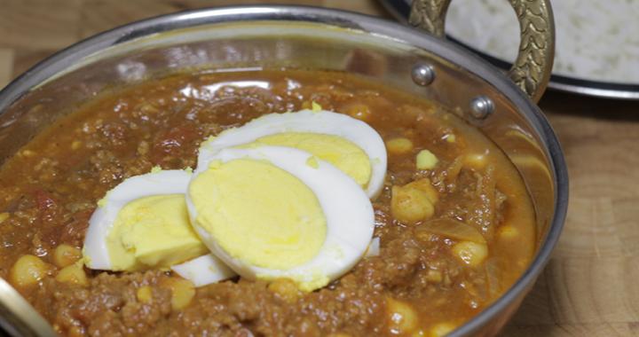Keema Indian Street food