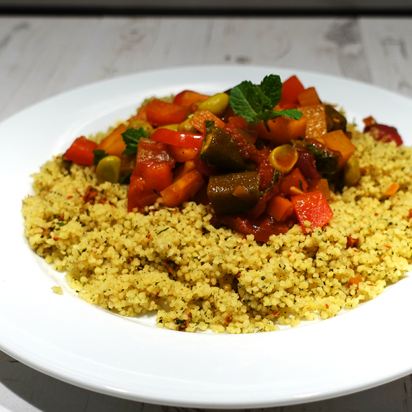 Moroccan Seven Vegetable Stew