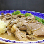 Pot Roast Beef with Mushrooms