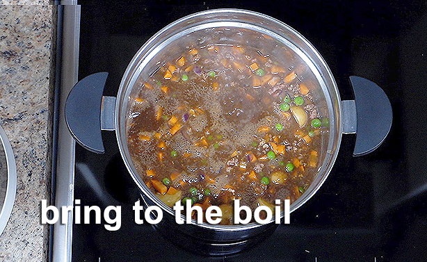 bring to the boil