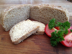 Thermally cooked Doris Grants Bread