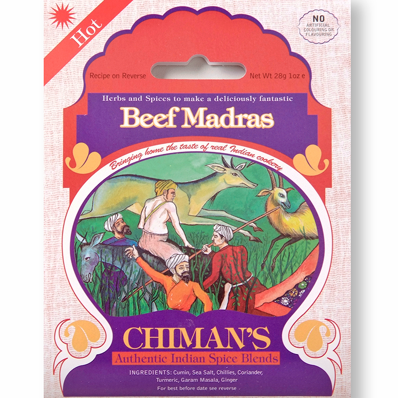 Chiman's Beef Madras